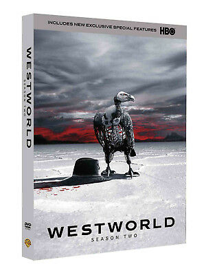 Westworld The Complete Second Season (DVD, ,3-Disc Set) Brand New Sealed