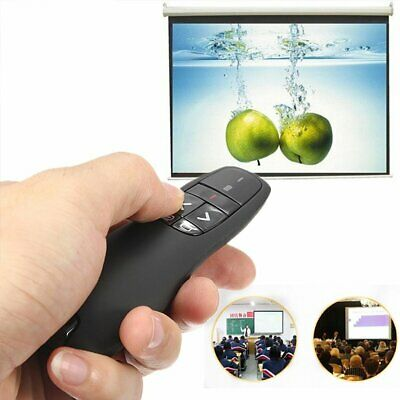 USB Wireless Red Laser Pointer Presenter Remote Control Pen PowerPoint PPT Tutor