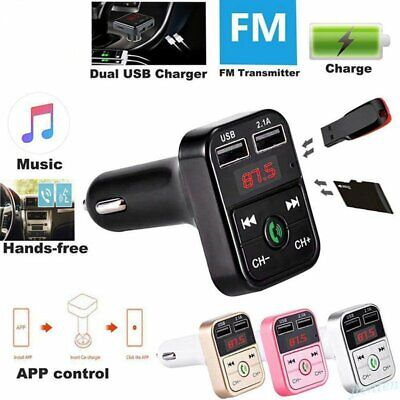 Wireless Bluetooth Mp3 Player FM Transmitter Car Kit Radio Adapter USB Charger