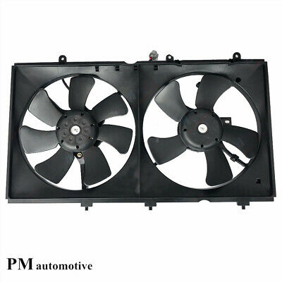 Radiator Condenser Fan Assembly for Mitsubishi Lancer 03-07 2.0L I4 MI3115119