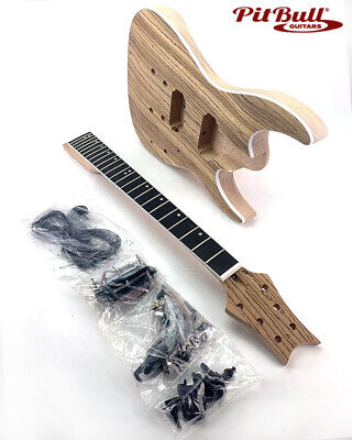 Pit Bull Guitars GS-2Z Electric Guitar Kit (Ebony Fretboard)