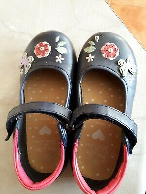 Girls Bluezoo Navy/pink Shoes Size 11