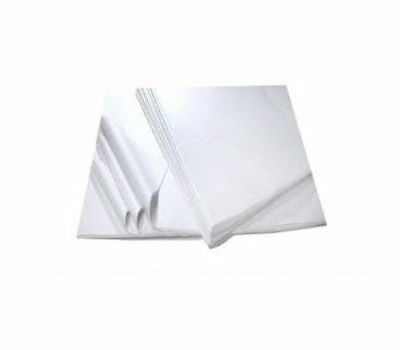 """100 WHITE Tissue Paper Sheets 'ACID FREE' Size - 450x700mm 18x28"""""""