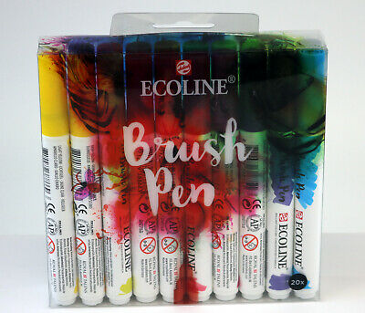 Ecoline Brush pen set of 20