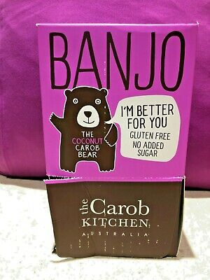 The Carob Kitchen - Banjo Coconut Carob Bear 50 X 15g