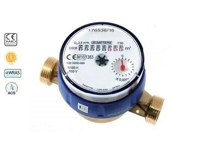 "20mm / ¾"" BMeters GSD8 Cold Water Meter. WRAS approved with Pulse Output"