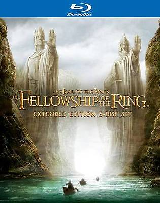The Lord of the Rings: Fellowship of the Ring (Blu-ray 5-Disc set) New SEALED