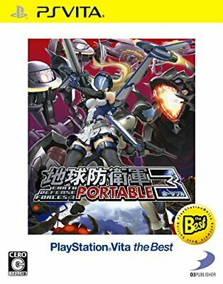 Earth Defense Force 3 PORTABLE PlayStation (R) Vita the Best - PS ... From Japan