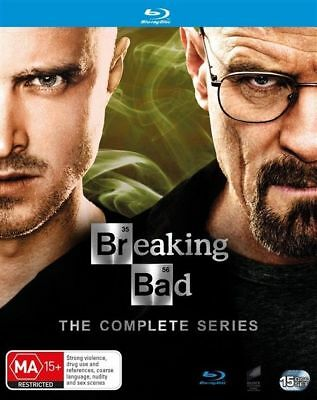 Breaking Bad Complete Series Collection (Blu-ray, 15-Disc Set) NEW
