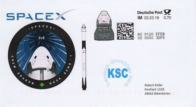 Space Internetmarke DP, Postkodierung, Start Demo 1 SPX-DM1 2019