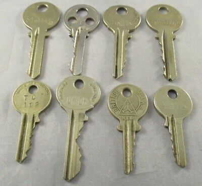 Vintage Job Lot Keys - Yale/Union Type