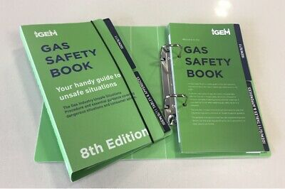 Gas Safety Book GIUSP Book Only (8th Edition - IGEM/G/11)