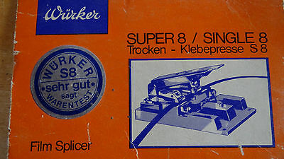 Würker Super 8-Single 8 Trocken-Klebepresse S8