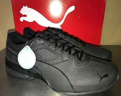 1c1e97f1b4e18e PUMA Tazon 6 Fracture FM Shoes Sz 10.5 Mens Sneaker Black Running Shoe   NEW