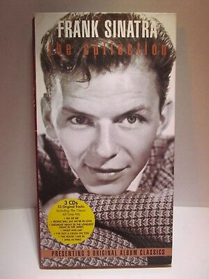 Frank Sinatra The Collection 3 CDs Music Set Columbia Records Greatest Hits RARE