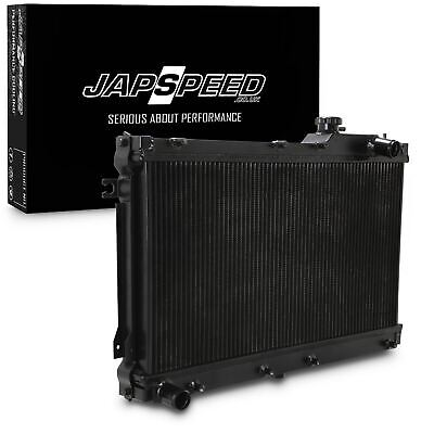 Radiatore Japspeed Black Edition Lega Twin Core Per Mazda Mx5 1.6 1.8 90-97