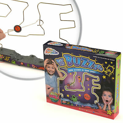 Kids Childrens Nerve Buzz Game Wire Skill Maze Adult Steady Hand Office Fun