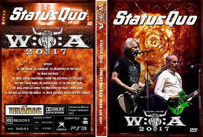 Status Quo. Open Air Festival. Germany. Dvd.