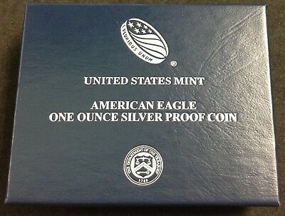 2016-W American Silver Eagle (1oz) Proof Coin