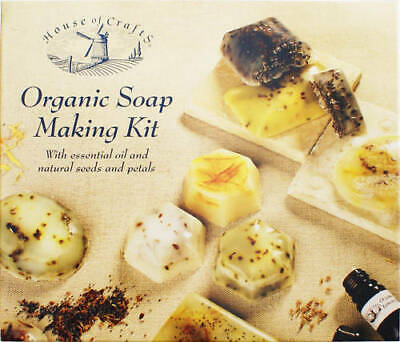 House of Crafts ORGANIC SOAP MAKING KIT Ideal Occasions Gift - Boxed NEW HC500