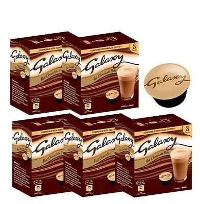 Galaxy Hot Chocolate Dolce Gusto Compatible Pods 40 Pods