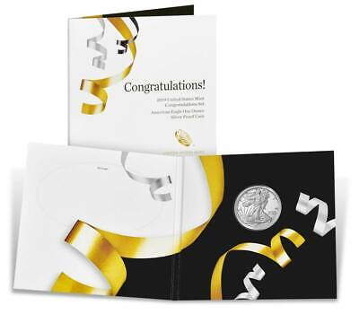 2019 W Silver Eagle Congratulations Set - Ordered First Day Of Issue - Ungraded