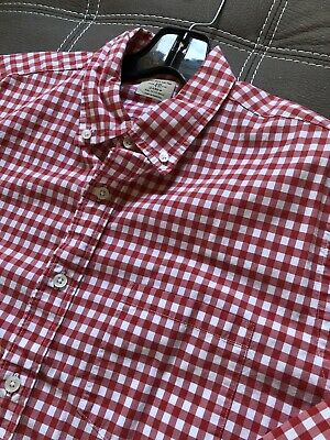 3c2d40ea49 J Crew Retail Button Down L/s Shirt Size Medium M Classic Fit Dress Shirt