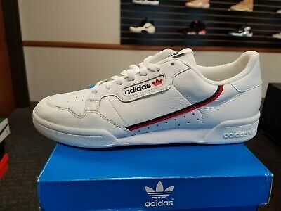 finest selection 78b3f 0896d Brand New in Box ADIDAS RETRO MENS CONTINENTAL 80 WHITE RASCAL B41674