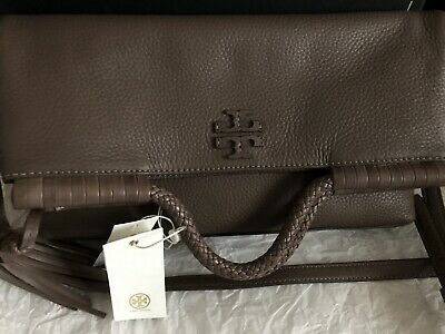1748a07d92d6 TORY BURCH TAYLOR Convertible Foldover Crossbody with Matching ...