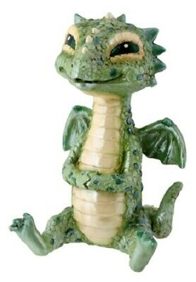 NEW! Green Baby Dragon Mythical Character Serpant Reptile Figurine 7731