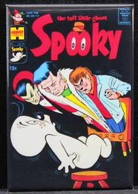 "Spooky Comic Book Cover 2"" X 3"" Fridge Magnet. Dracula The Wolfman Frankenstein"
