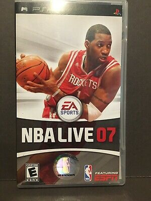 Sony PSP NBA Live 2007 Video Game Complete