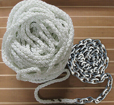 """1//4/""""x200 Windlasses LC Trac Outdoor T10212 Anchor Rode 200/'//15 Rope Line Size"""
