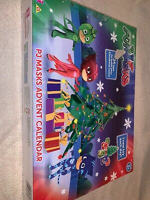 PJ Masks Advent Calendar Christmas Present Toy Character - IN STOCK Some Marks