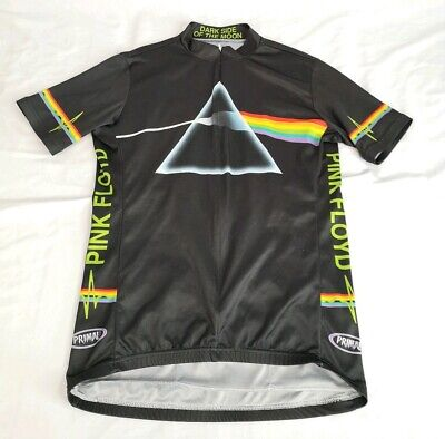 6578247a2 PRIMAL WEAR Pink Floyd Dark Side of the Moon Cycling Jersey Sz M Bike  Bicycle
