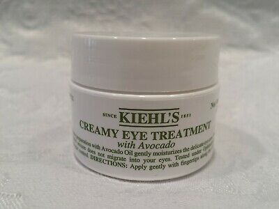 Kiehl's-Creamy Eye Treatment W/ Avocado - 0.5 Oz - Sticker/Code