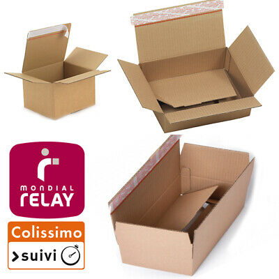 Lot 60 Cartons Caisses Colis Expedition Emballage Neuf