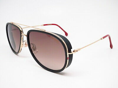 a96708cc4493 New Authentic Carrera 166/S Y11HA Gold Red w/Brown Gradient Sunglasses