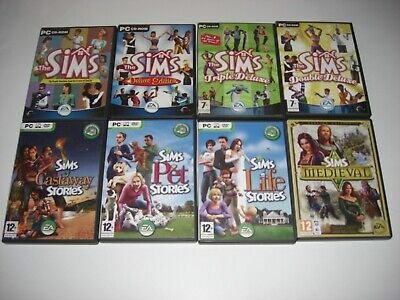 The Sims 1 / Double Triple Deluxe / Castaway / Life / Pet Stories / Medieval Pc