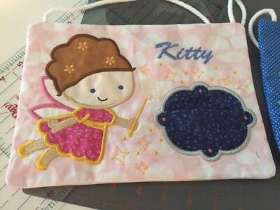 Handmade - Boy or Girl Tooth Fairy Pillow - Personalized - Free Shipping