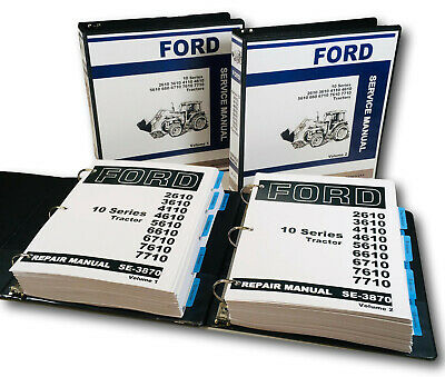 ford 7710 owners manual free