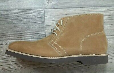 30c54a75ce7e4 Brooks Brothers Mens 9 Light Brown Suede Chukka Boots NWOB tan ankle lace up