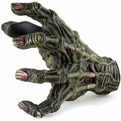 New Grip Studios LHGH133 Ghastly Left Hand Guitar Grip Wall Hanger, Toxic Zombie