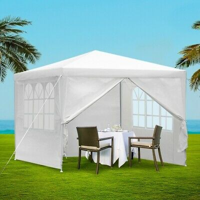 Adjustable Outdoor Gazebo Tent Event Party Wedding Canopy Camping Patio Shelter