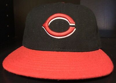 Cincinnati Reds New Era 59 50 On Field Fitted MLB Baseball Hat Cap Adult 7 6787499ea832