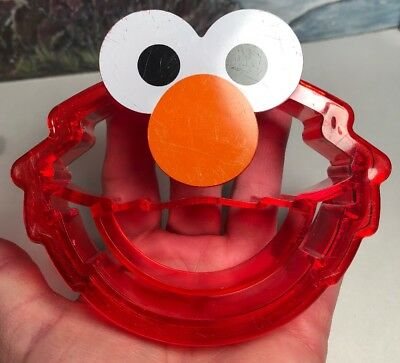 Sesame Street ELMO Red Plastic Cookie Cutter/Crust Bread Cutter Evriholder Prod
