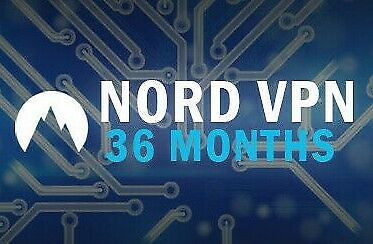 NordVPN Premium | 36 MONTHS Subscription | 36 MONTHS Warranty | Nord VPN account