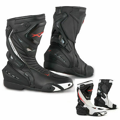 d33044405a8514 Motorcycle Boots Motorbike Sports Racing Track Road Technical Microfiber