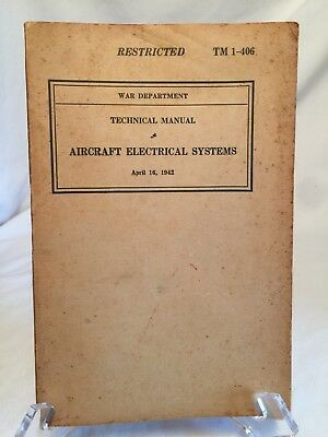 1944 WWII Department Technical Book Aircraft Induction Fuel Oil TM ...