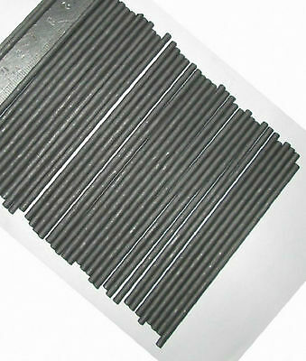 """1pc MELT GOLD SILVER MELTING STIRRING MIXING GRAPHITE CARBON ROD 1"""" x 12""""  GY"""